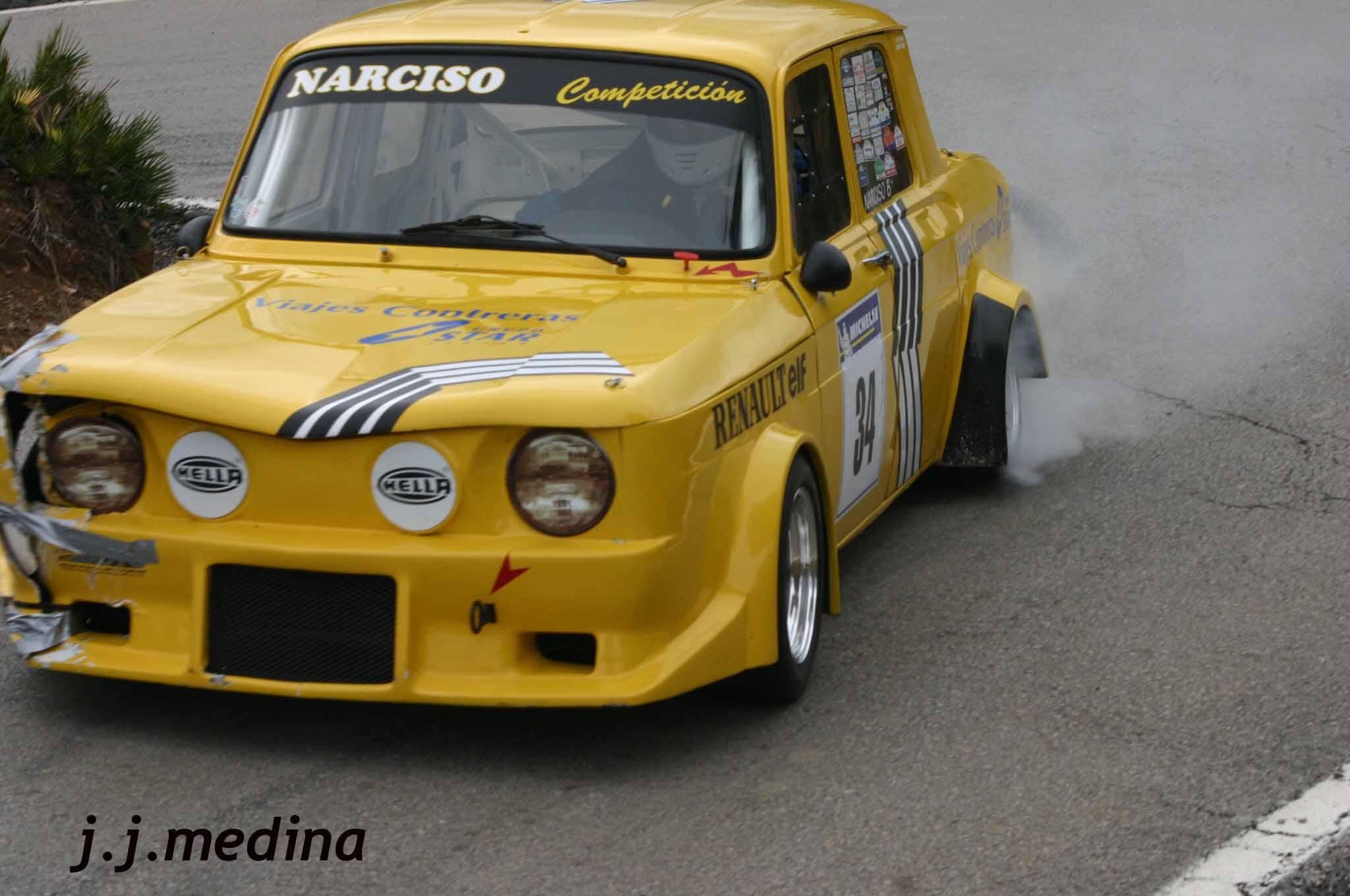 R8 Gordini De Narciso Carrillo En Carreras En Cuesta El Foro De Pieldetoro Net
