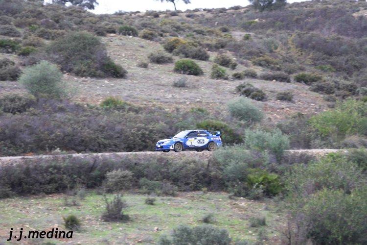 Francisco Jiménez, Subaru Impreza Sti, I Rallye Slicks Sevilla