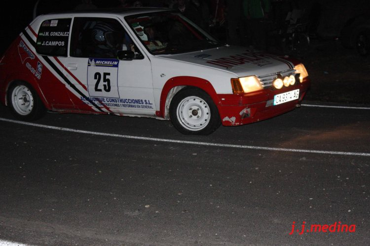 Juan Manuel Campos-Juan Manuel González, Peugeot 205 Rallye