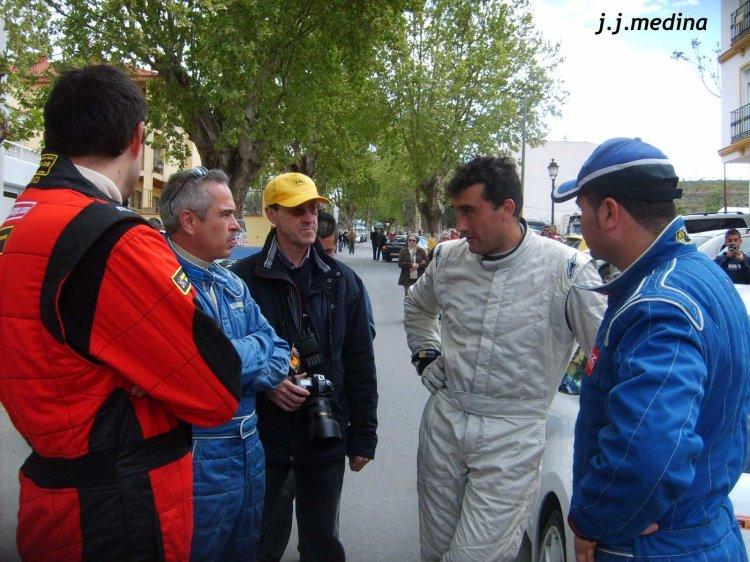 Conversación de pilotos. I Rallyesprint de Ugíjar