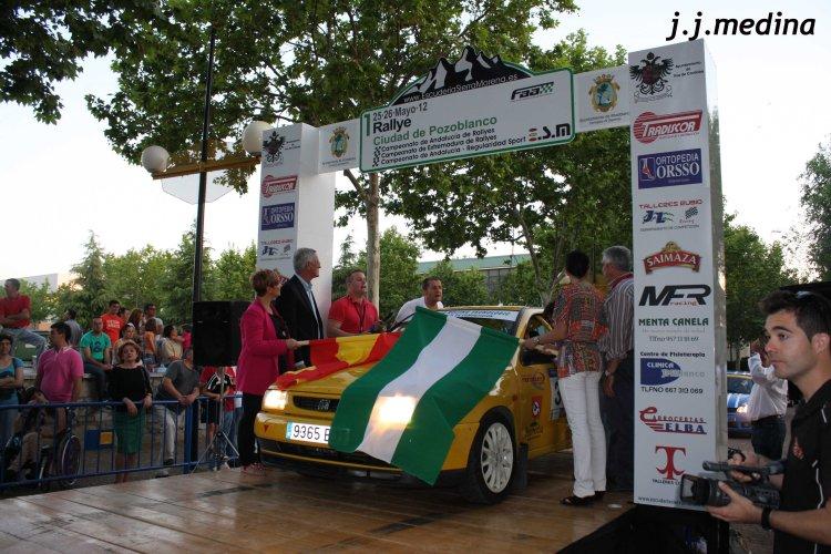 Ceremonia de salida. I Rallye Ciudad de Pozoblanco