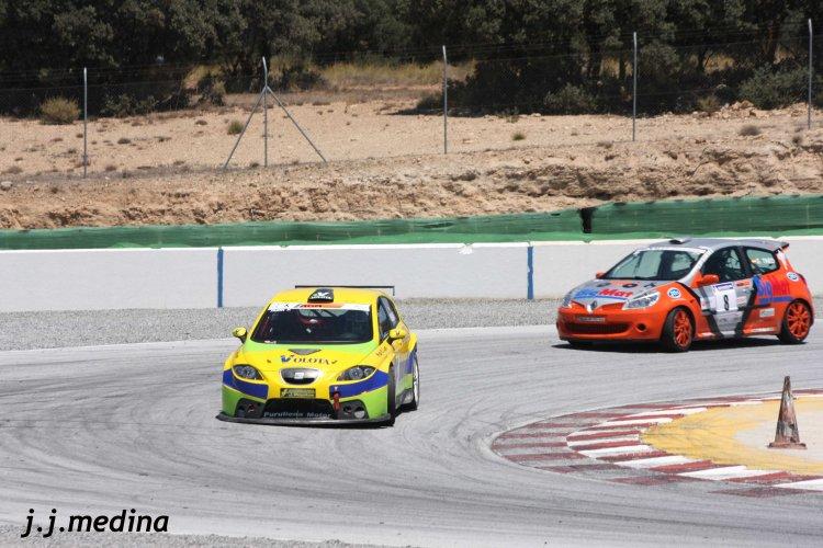 Yasin Félix Moujahed y Salvador Tineo. Circuito de Guadix