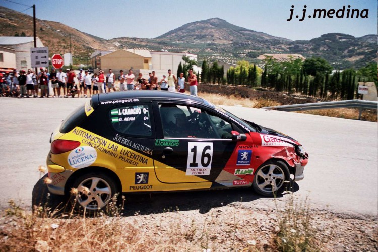 Juan Camacho-Oscar Adán, Peugeot 206 XS