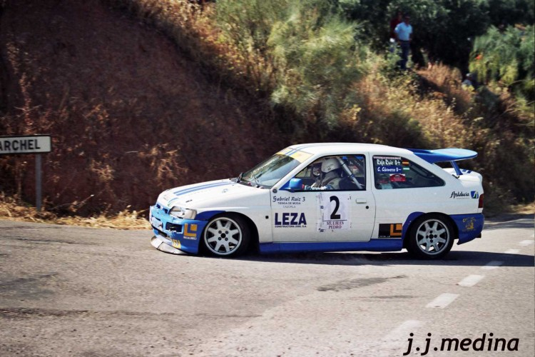Rafael Ruiz-Carlos Chamorro, Ford Escort Cosworth