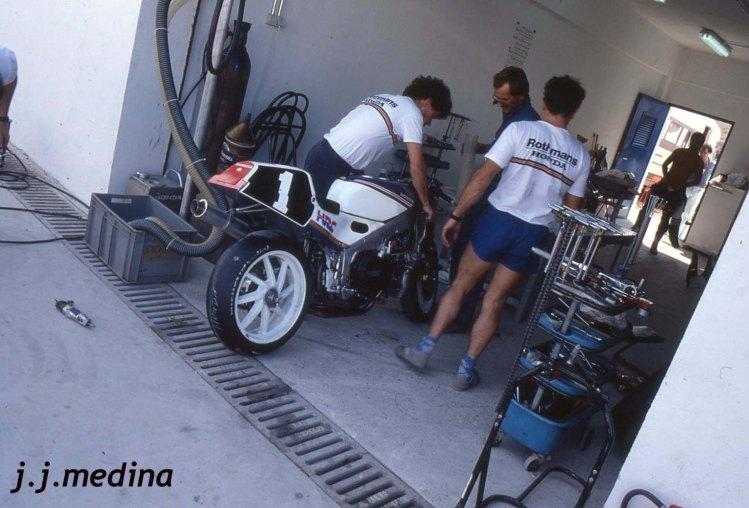 Honda RVF 750 de HRC