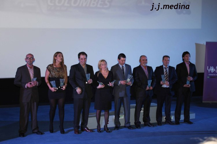 Vencedores categorías TT