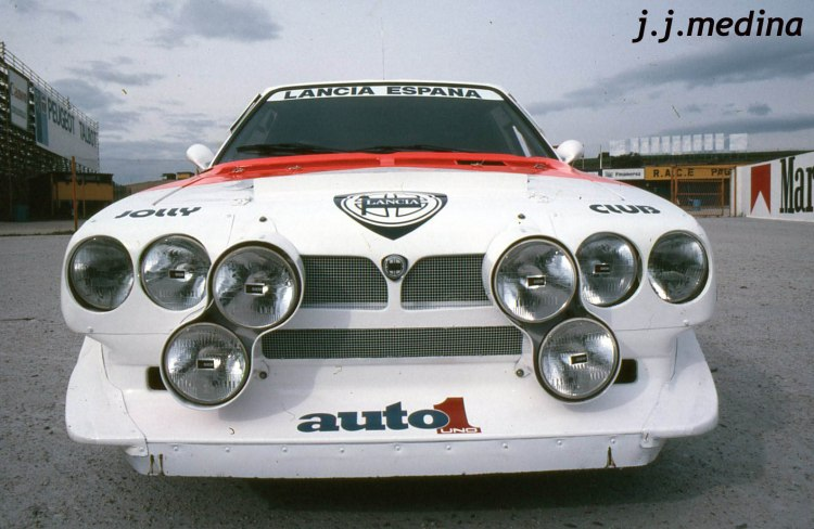 Delantera Lancia Delta S4