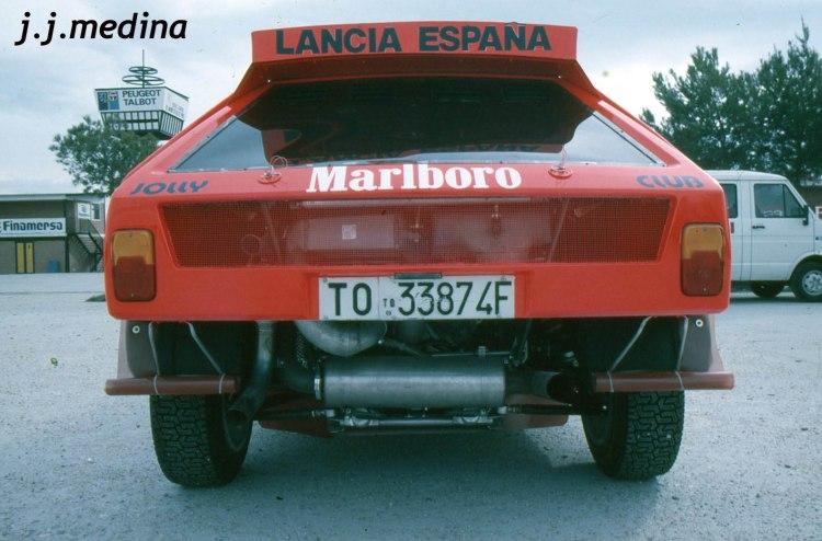 Trasera Lancia Delta S4