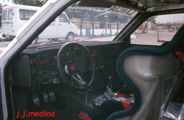 Interior Lancia Delta S4