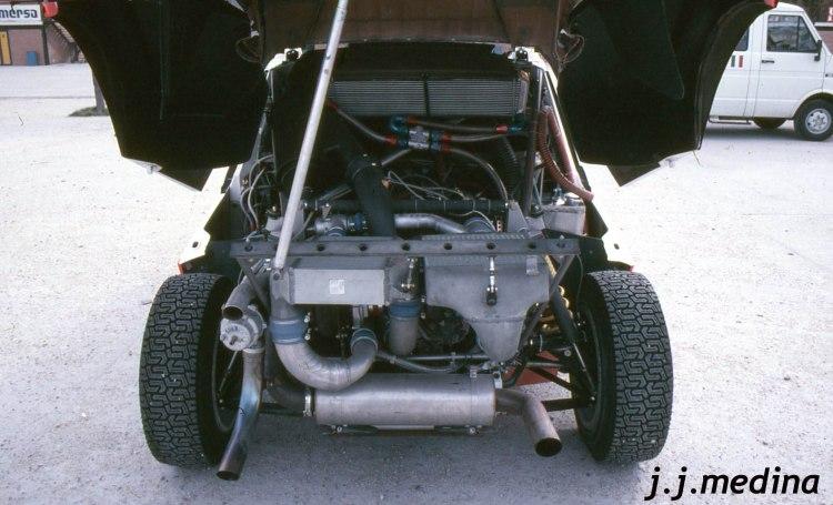 Motor Lancia Delta S4
