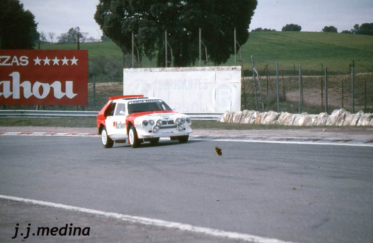 Lancia Delta S4 en el Circuito del Jarama