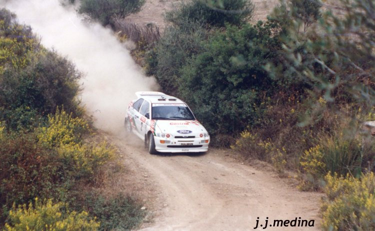 Luis Climent, Ford Escort Cosworth