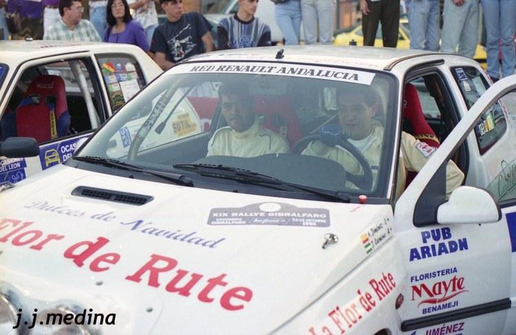 Paco Jiménez -Jjosé Carmona (Renault Clio 16v)