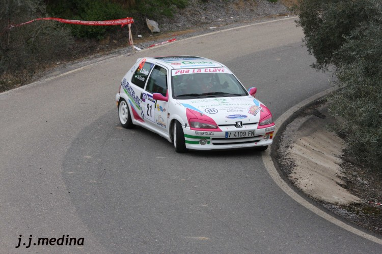Andrés Criado, Peugeot 106 Rallye
