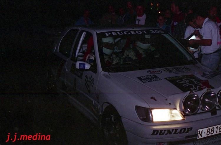 Juan Antonio Tobaruela- Juan  García (Peugeot 316 S16)