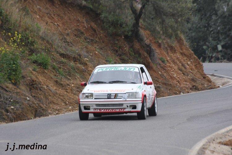 Antonio Arribas, Peugeot 205 Rallye