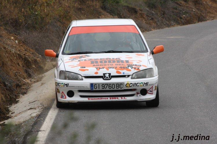 2Juan de Dios Roldán, Peugeot 106 Rallye