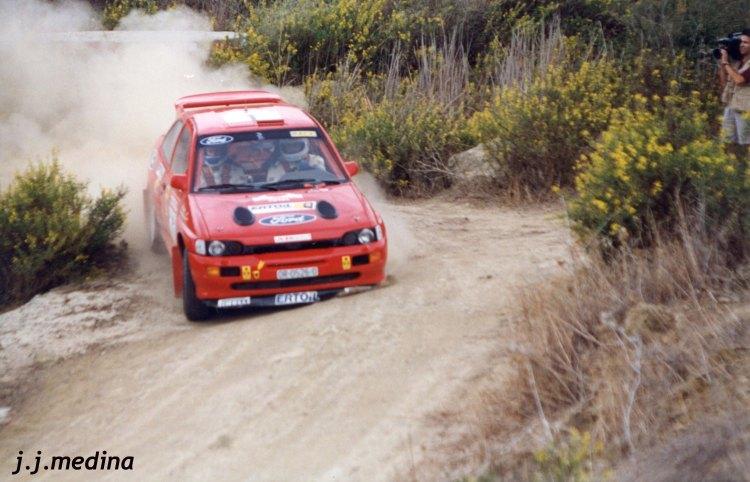 Claudio Aldecoa, Ford Escort Cosworth