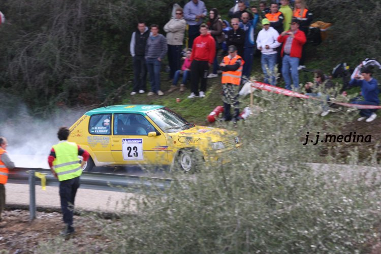 Manuel Ruiz, Peugeot 205 Rallyea