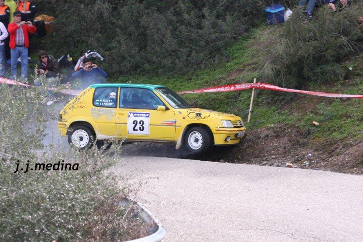 Manuel Ruiz, Peugeot 205 Rallye