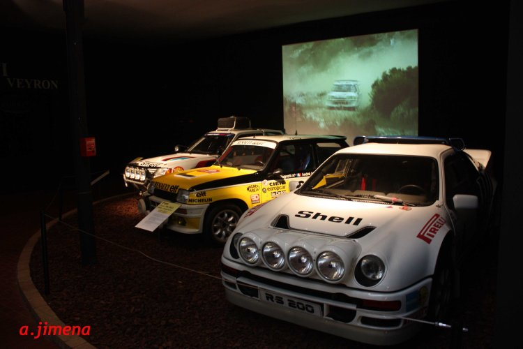 Ford RS 200, Renault 5 Turbo y Peugeot 205 T16