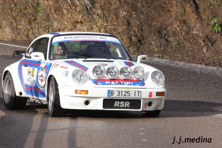 Luis  Gracián-Ana Haliley Porsche 911 SRS