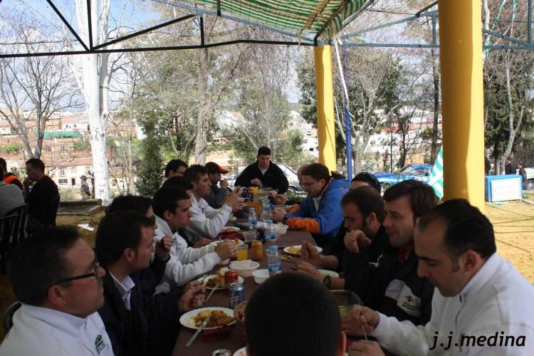 Comida de los participantes