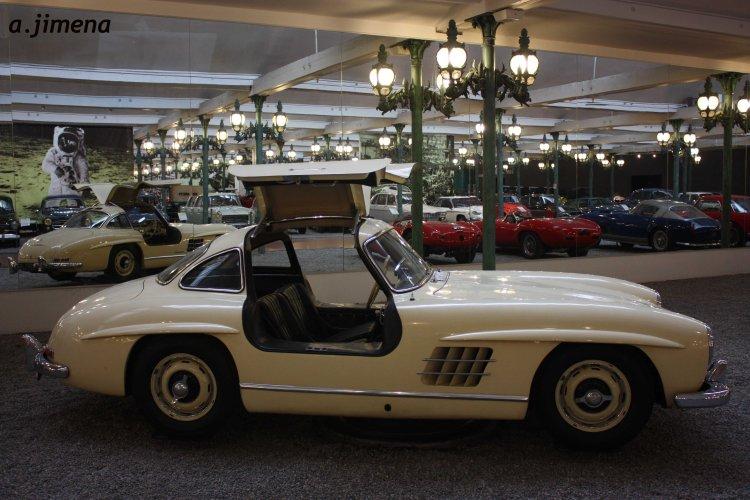 Mercedes 300 SL Alas de gaviota de Frotz Schlumpf