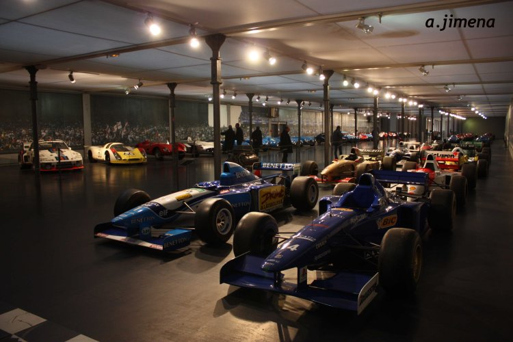 Vehículos de competición modernos