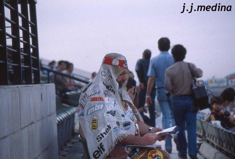1Aficionado en el GP de España 82