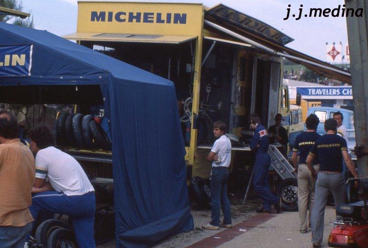 Camión taller Michelin