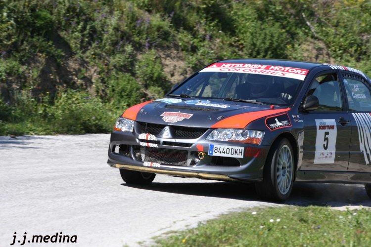 Oscar Gil-Manuel Causse, Mitsubishi EVo VIII