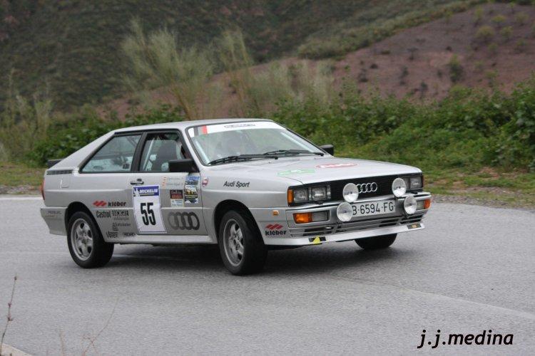 Gregorio Garnica-Valeriano Delgado, Audi Quattro