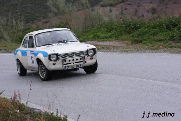 Agustín Blázquez-José Casado, Ford Escort MK1