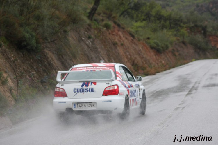 Juan Ángel Ruiz-José Antonio Goonzález (Subaru Impreza STI)