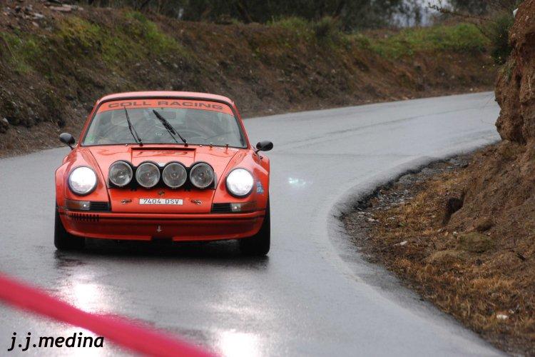 Ildefonso y Miguel Angel García (Porsche 911 2.5 ST)