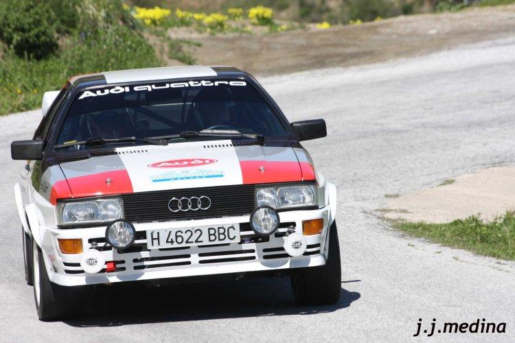 José y José Miguel Otegui, Audi Quattro