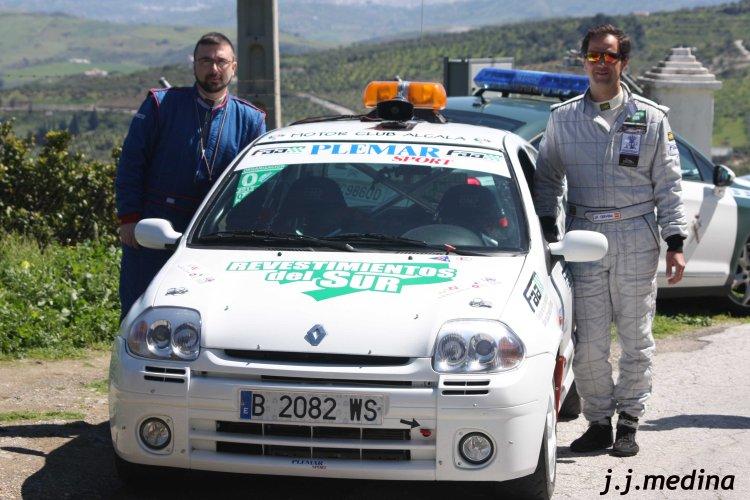 José Pérez y José Antonio Carrillo, Renault Clio Sport