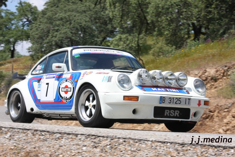 Gracián-Haliley, Porsche 911 SC RSR