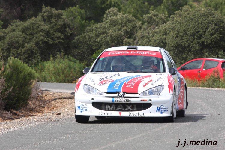 Pedro Cordero-Antonio Pérez, peugeot 206 Maxiia