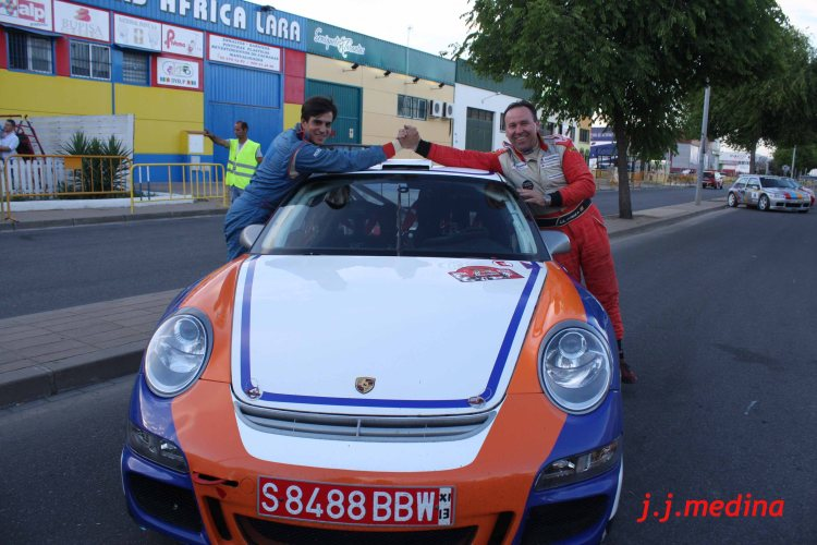 José Antonio Aznar-Crisanto Galán, Porsche 997 GT3