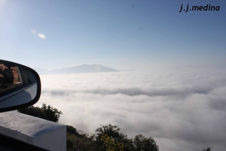 Niebla en la Subida de Araceli