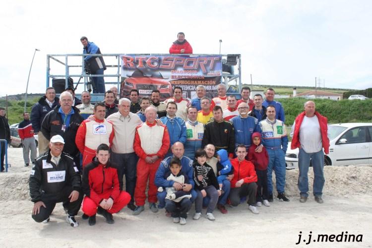 Pilotos y oficiales IX Autocross de Lucena