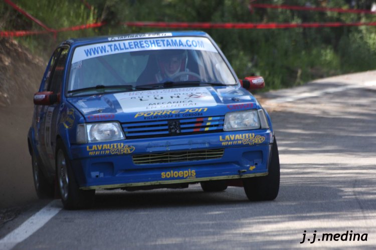 Anastasio Jiménez, Peugeot 205 Rallye