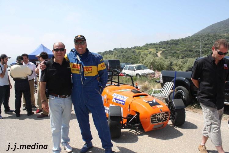 Juan Carlos Nevado  y Mike Anderson