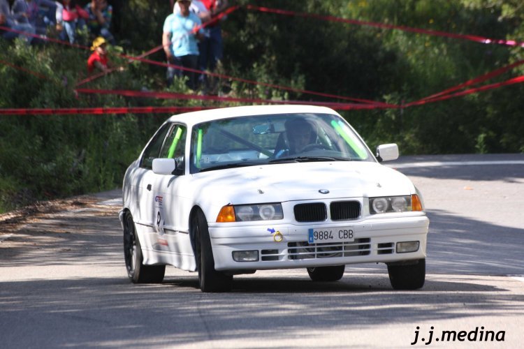Francisco Palomo, BMW 325 is