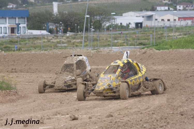 Gustavo Salguero  (nº 3,Speed Car Xtreme), y Rodriigo Aranda (nº 14 JB Racing)