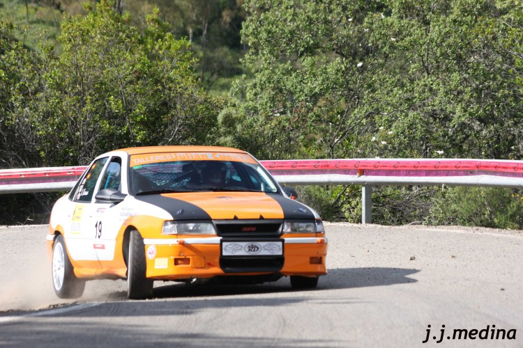Julián Cuenca, Opel Vectra GT