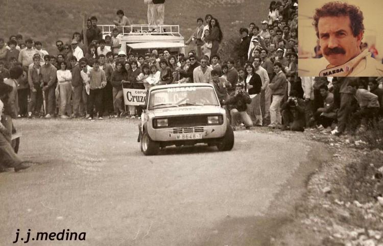 Tomás Aranda (Seat 124), Subida a Araceli 1984