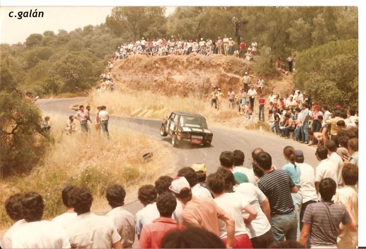 Crisanto Galán ( Seat 124), Subida a Trassierra 1983